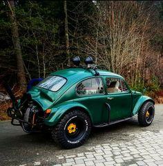 Baja Bug Car Volkswagen, Vw Cars, Vw Camper, Weird Cars, Cool Cars, Fusca Cross, Vw Baja Bug, Sweet Cars, Modified Cars