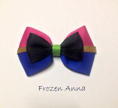 Frozen Princess Anna Bow