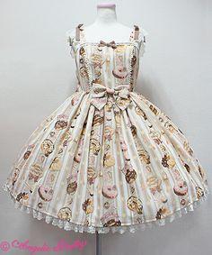 Angelic Pretty Melty Creamドーナツジャンパースカート