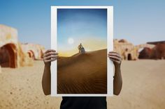Carrying Hope Giclee by ACME Archives | Sideshow Fine Art Prints A New Hope, Sideshow Collectibles, Carry On, Archive, Star Wars, Polaroid Film, Fine Art Prints, Hand Luggage, Carry On Luggage