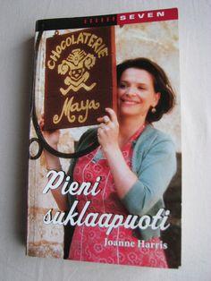Ensimmäinen kirja, jonka luin 52 kirjaa vuodessa-tavoitteessani, oli Pieni Suklaapuoti. Taisin lukea sen tämän vuoden ensimmäisen illan ja y... Joanne Harris, Book Covers, Literature, Facts, Reading, Books, Literatura, Libros, Book