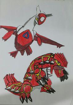Goudron e latias - Pokemon (Murilo Froner Pereira)