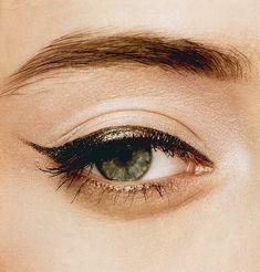 shimmery cat eye