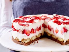 Tiramisu-Kuchen: Rezept für Erdbeer-Tiramisu-Kuchen