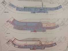 J.P. Hoornstra: Schematics of (top) old Dodgers clubhouse, (middle) new Dodgers clubhouse, (bottom) overlay of the two. pic.twitter.com/1PyViaZM