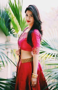 Gorgeous #pink #lehengha by Prevasu So #pretty!