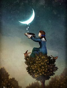 mindlovemisery's Menagerie 27, milking the moon: Tears of the Moon ...
