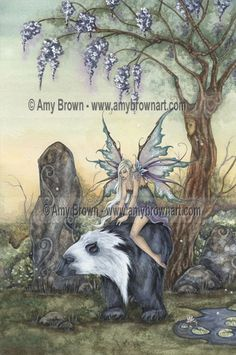 Fairy Art Artist Amy Brown: The Official Online Gallery. Fantasy Art, Faery Art, Dragons, and Magical Things Await. Party Unicorn, Diy Unicorn, Amy Brown Fairies, Elves And Fairies, Dark Fairies, Fantasy Fairies, Magical Creatures, Fantasy Creatures, Fairy Dust