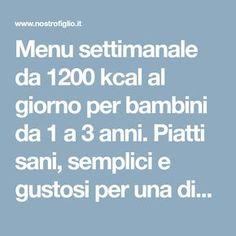 Menu, Baby Food Recipes, Clean Diet, Diets, Rome, Menu Board Design, Recipes For Baby Food