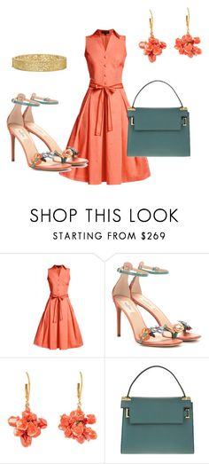 """""""Pop of Color"""" by kmags4 ❤ liked on Polyvore featuring Rumour London, Valentino and Yossi Harari"""