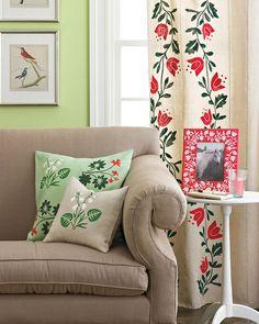 Martha Stewart Crafts Paint Floral Decor | Martha Stewart