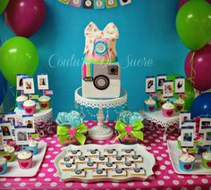 Coolest mom in the school cake 9th Birthday Parties, Adult Birthday Party, 14th Birthday, Birthday Ideas, Happy Birthday, Birthday Cake, Instagram Birthday Party, Instagram Party, Instagram Cake