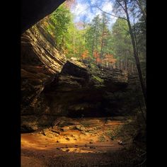 Ash Cave at #Hocking Hills State Park in southeast #Ohio