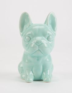 Ceramic Frenchie Bank ($9)