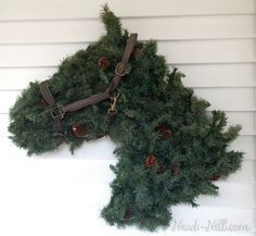 Horse Head Shaped Wire Wreath Form - Choose Size- The Effective Pictures We Offer You About jul krans diy A quality picture can tell you many things. You can find the most beautiful pictures that can be presented to you about jul krans perler in this ac Outdoor Christmas Decorations, Christmas Wreaths, Christmas Crafts, Christmas Ornaments, Holiday Decor, Christmas Ideas, Christmas Greenery, Christmas Sale, Handmade Christmas