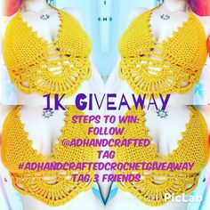 AND let's not forget about this awesome Crochet top Giveaway.! You can enter as many times as you want! @adhandcrafted #adhandcraftedcrochetgiveaway  @yrrekrose @ootdleggings @tiffanytigerlily  #artisan #art #shopsmallbusiness #etsy #giveaway #crochettop #love by unicorns_are_fun2
