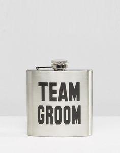 Image 1 ofTeam Groom Hip Flask