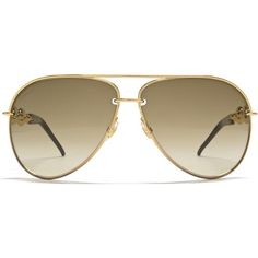 Chain Effect Temple Aviator Sunglasses in Gold Black |Red Hot... ($315) ❤ liked on Polyvore featuring accessories, eyewear, sunglasses, glasses, acessorios, oculos, gold glasses, red eyewear, red aviator sunglasses and chain sunglasses