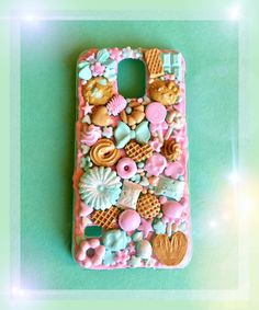 Kawaii Phone Case, Diy Phone Case, Cell Phone Cases, Iphone Cases, Starbucks Case, Decoden, Cute Crafts, Clay Ideas, Polymer Clay