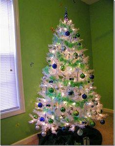 Seahawks Christmas Tree.122 Best Christmas Seahawks Images Seahawks Seattle