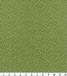 Keepsake Calico Fabric Illusions Floral Olive