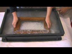 instructievideo leskist papier scheppen CNME - YouTube