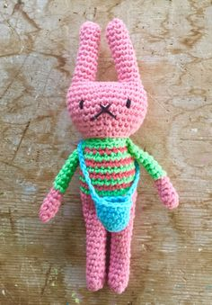 Ravelry: little woollie rabbit pattern by Julie Harrison Crochet Bunny, Cute Crochet, Crochet Toys, Knit Crochet, Amigurumi Patterns, Crochet Patterns, Beginner Crochet Projects, Sock Yarn, Hello Everyone