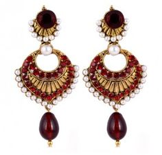 Latest Artificial Fashion Pearl Earrings sale online India