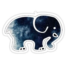 e1d420c3ad6f space ivory ella by oceanology Ivory Ella Stickers
