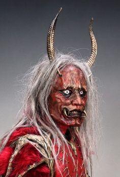 鬼 Japanese demon. That is freaking terrifying.