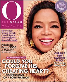 A fun gift that will keep giving all year long! O, The Oprah Magazine