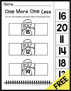 January No Prep Math Literacy Pack Freebies