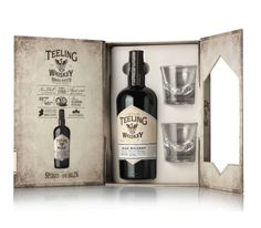 Blended Small Batch Glass Pack.  One bottle of Teeling 70CL Blended Small Batch and 2 Teeling whiskey tumblers. A superb gift for any whiskey lover.  www.marussiabeverages.co.uk
