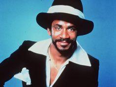 """Undated: """"WKRP in Cincinnati"""" star Tim Reid as late-night DJ Venus Flytrap. WKRP aired on CBS 1978-82."""