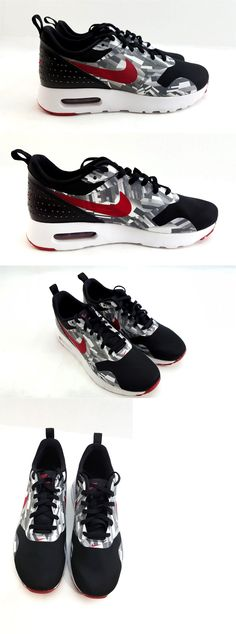 ce1a442a51b7 Boys Shoes 57929  Nike 844821-001 Boys Air Max Tavas Print Gs Sneakers 6.5Y  Black Red Gry 111-12   -  BUY IT NOW ONLY   49 on eBay!