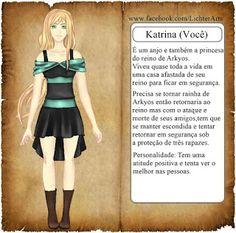 Loveusers Br: Arkyos Angel -visual novel brasileira-