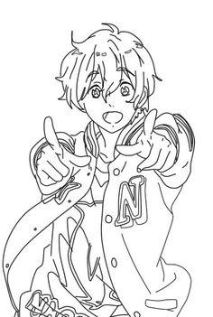 Http Haseokamiya Deviantart Com Art Anime Coloring Page