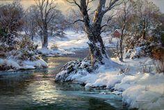 Charles Vickery: Original Paintings: Item# 18818B