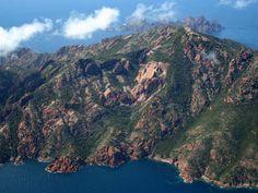 Gulf of Porto: Calanche of Piana, Gulf of Girolata, Scandola Reserve, Departments of Corse du Sud and Haute Corse, Corsica, France. Inscription in 1983. Criteria: (vii)(viii)(x)
