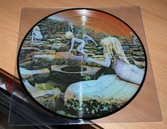 LED ZEPPELIN - HOUSES OF THE HOLY LP PICTURE DISC VINYL RECORD LP RARE NM #HardRock