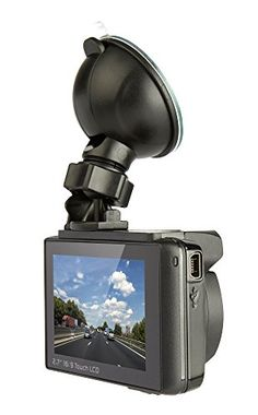 Snooper DVR-4HD Dash Camera with LCD Touch Screen