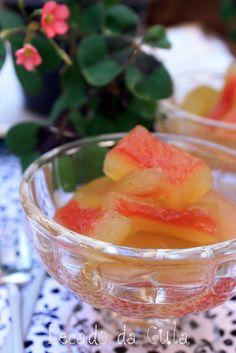 Compota de casca de melancia