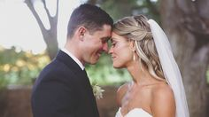 """Previous pinner said """"I didn't have a videographer at our wedding because I usually think wedding videos are stupid. I would have thought much differently if I'd seen this... Its the most beautiful wedding video I've ever seen. Ever. The only thing is change about my wedding... I would have hired this company to do a video!!"""""""