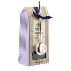 Piccadilly Loose Tea Pouch & Silver Plated Infuser