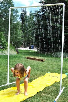 DIY Sprinkler out of PVC pipes