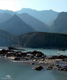 Dalaki river, Dashtistan, Bushehr province, Iran.
