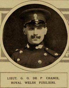 Lieut. Guy Ogden de Peyster Chance 1 RWF killed in action 19th October 1914.