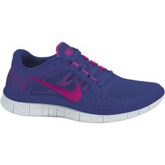 Nike Free Run+ 3 Women's Running Shoes - Night Blue, 5 found on Polyvore