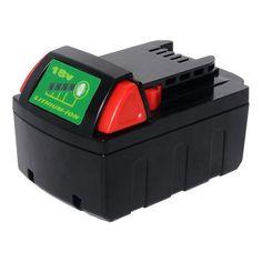 KooPower® 18V 3A Lithium Ion Batterie de remplacement Pour Milwaukee C18B M18 M18B M18B2 M18BX M18B4 2680-20 48-11-1828 M18 XC Koopower http://www.amazon.fr/dp/B00JQ5UFDC/ref=cm_sw_r_pi_dp_I7Nzvb0HCZMGC