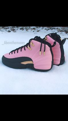 Rose Gold 12s